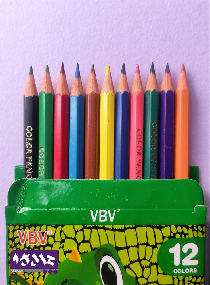 مداد رنگی کوتاه
