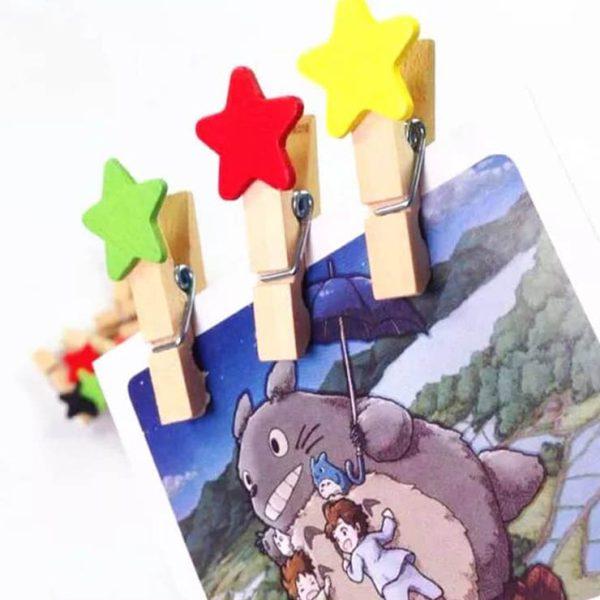 گیره چوبی ستاره