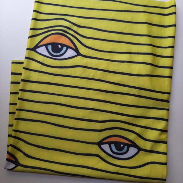 اسکارف زرد