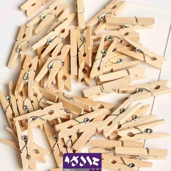 گیره چوبی ساده