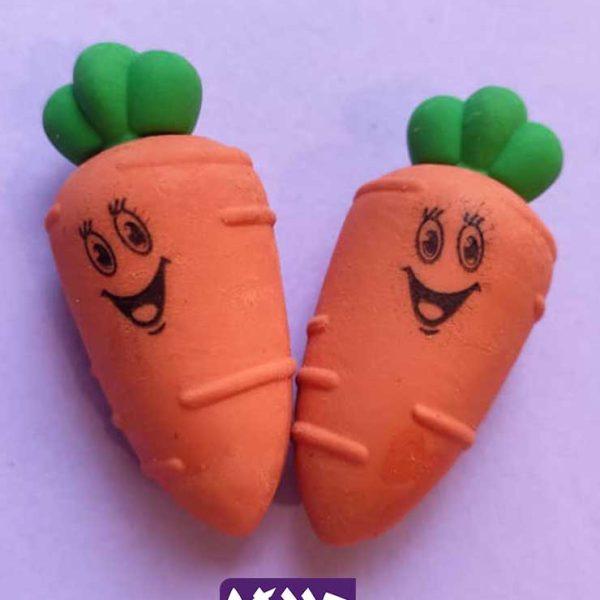 پاکن طرح هویج خندان