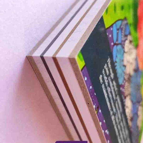 دفتر طرح هولیا با پنج نوع کاغذ