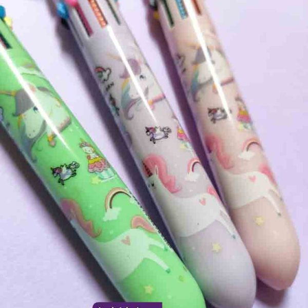 خودکار رنگی یونیکورن