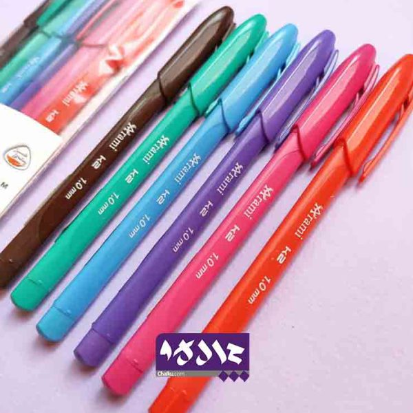 خودکار 6 رنگ آرامی