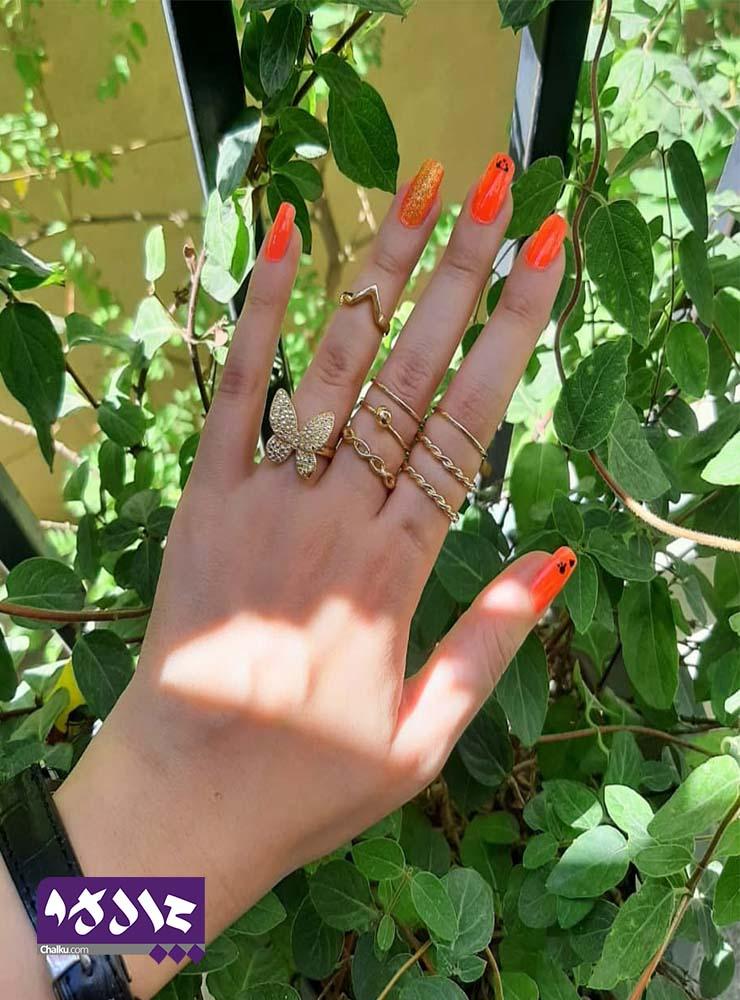 انگشتر ست پروانه